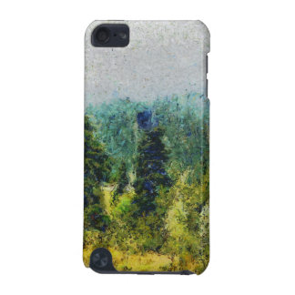 Shrubs, trees and mountains iPod touch 5G case