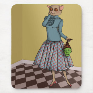 Shrunken Head Dilemma mousepad