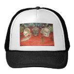 Shrunken Heads Voodoo Display Trucker Hat