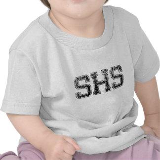 SHS High School - Vintage Distressed T Shirts