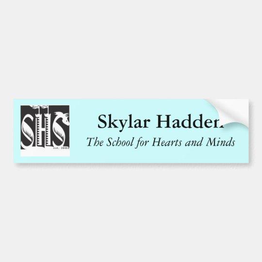 SHSbumpersticker Bumper Sticker