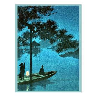 Shubi pine Ukiyoe Postcard