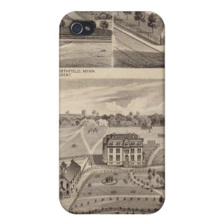 Shuck School, Faribault Willis Hall, Minnesota iPhone 4 Covers