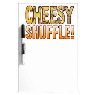 Shuffle Blue Cheesy Dry Erase Whiteboards