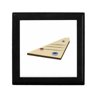 Shuffle Board Trinket Box