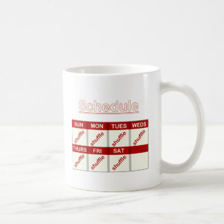 Shuffle Everyday Coffee Mug