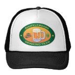 Shuffleboard Drinking Team Trucker Hat