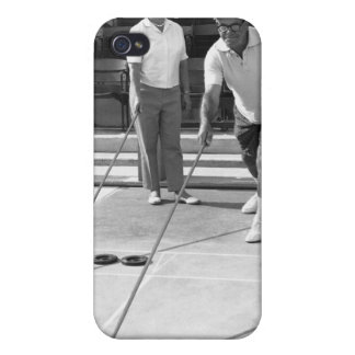 Shuffleboard iPhone 4/4S Case
