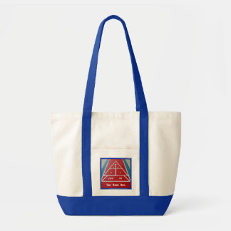 Shuffleboard on Board  Custom Impulse Tote Bag