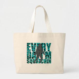 Shufflin' Sasquatch Jumbo Tote Bag