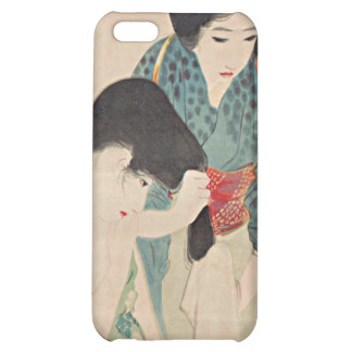 Shuho After A Bath Japanese Woodblock Print iPhone Case For iPhone 5C