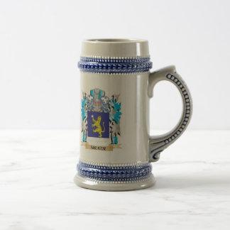 Shuker Coat of Arms - Family Crest Beer Stein