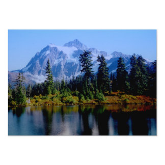 Shuksan Reflections 13 Cm X 18 Cm Invitation Card
