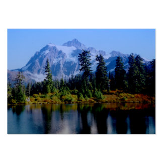 Shuksan Reflections Pack Of Chubby Business Cards