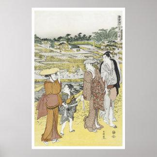 Shuncho Abundant Harvest 1770 Art Prints Poster