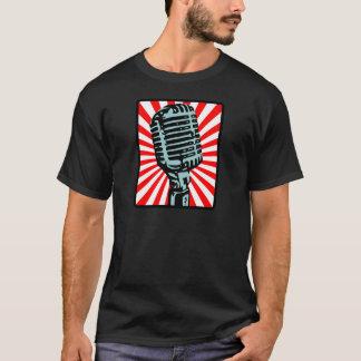 Shure 55S Vintage Microphone T-Shirt