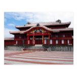 Shuri Castle in Okinawa, Japan Postcard