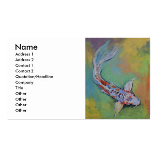 Shusui Butterfly Koi Pack Of Standard Business Cards