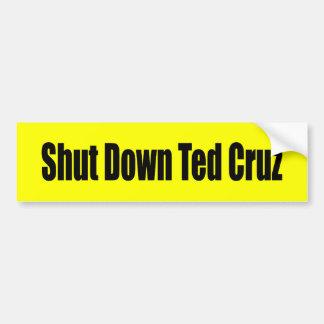 Shut Down Ted Cruz Bumper Stickers