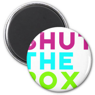 Shut The Box Logo 6 Cm Round Magnet