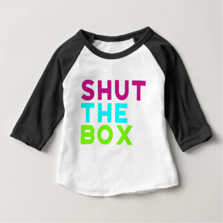 Shut The Box Logo Baby T-Shirt