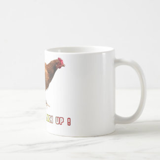 Shut The Cluck Up Basic White Mug