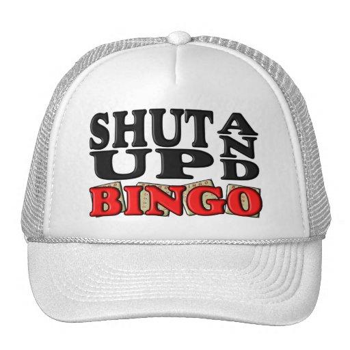 """""""SHUT UP AND BINGO"""" HAT"""