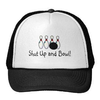 Shut Up and Bowl 2 Cap