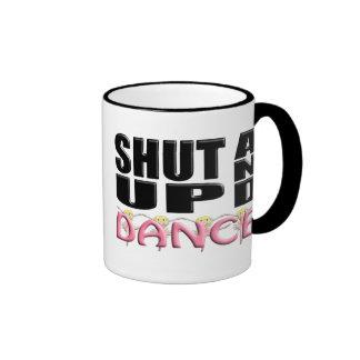 SHUT UP AND DANCE COFFEE MUGS