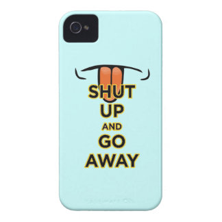 Shut Up and Go Away Blackberry Bold 9700/978 Case