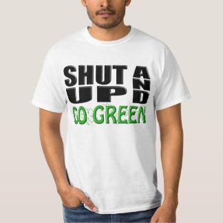 SHUT UP AND GO GREEN (Shamrocks) T-Shirt