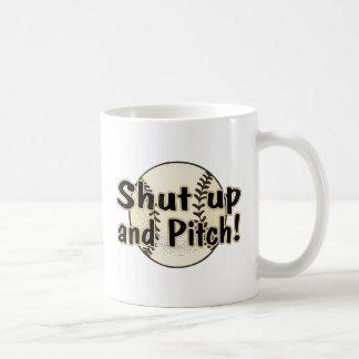 Shut Up And Pitch Coffee Mug