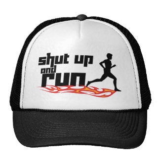 Shut Up and Run Cap