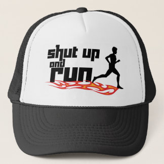 Shut Up and Run Trucker Hat