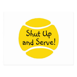 Shut Up And Serve Postcards