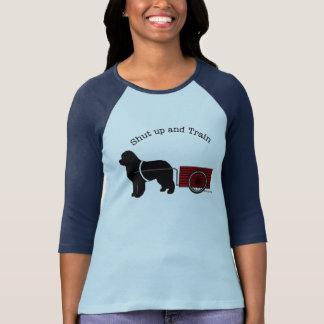 Shut Up and Train Draft Dog Shirt