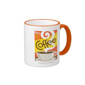 Shut up Coffee Ringer Mug