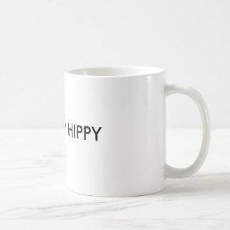 SHUT UP HIPPY BASIC WHITE MUG
