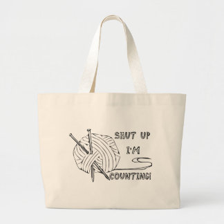 Shut Up I m Counting Tote Bags