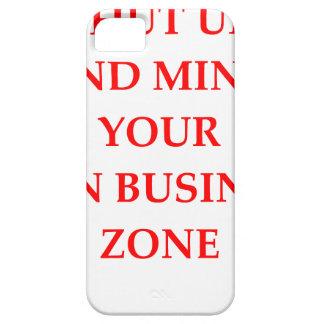 shut up iPhone 5 case