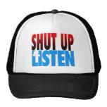 Shut Up & Listen Mesh Hats
