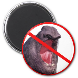 Shut up ! refrigerator magnet