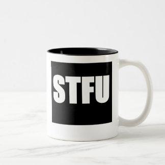 Shut Up STFU Two-Tone Mug