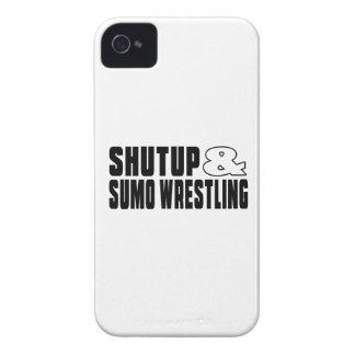 Shut up & SUMO WRESTLING iPhone 4 Cases