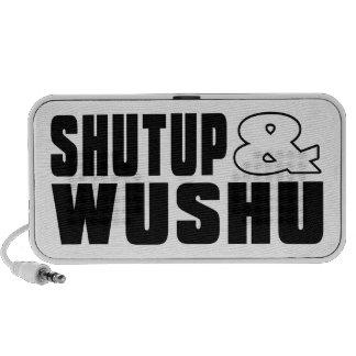 Shut up & WUSHU Travel Speakers