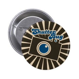 Shutterbug 6 Cm Round Badge
