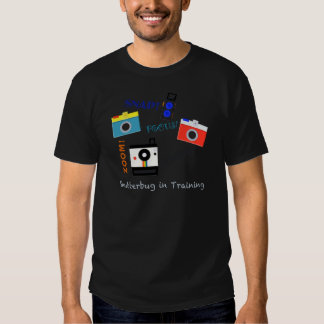 Shutterbug in Training Tee Shirt