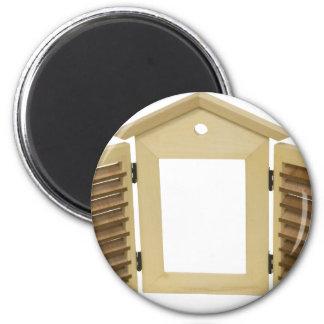 ShuttersLightOpen060709 6 Cm Round Magnet