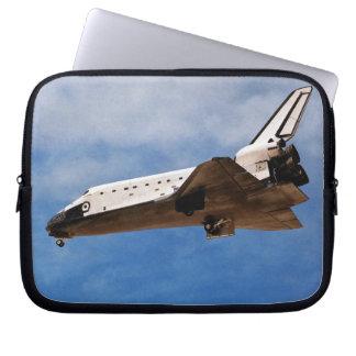 Shuttle Atlantis STS-30 Landing Laptop Computer Sleeve