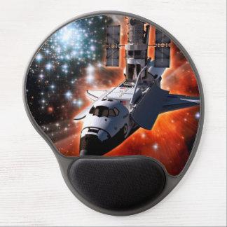 Shuttle Atlantis with Hubble Telescope Gel Mouse Pad